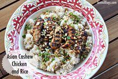 Jenna's Journey: Asian Cashew Chicken and Rice