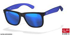Look who's looking at this new Ray-Ban  justin sunglasses