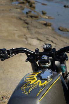 Custom Bikes, Classic Motorcycles, Cafe Racer Dreams and Mean Machines. Honda Scrambler, Motorcycle Companies, Bmw, Cafe Racer, Custom Bikes, Austria, Boxer, Design, Graz