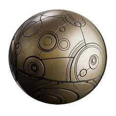 [Doctor Who: Gallifreyan Wibbly Wobbly Paperweight (Product Image)]
