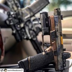 📸 ・・・ sitting in the captains chair with the riding shotgun 🤙🏽🛡⚔️ Tactical Knives, Tactical Gear, Tactical Equipment, Tactical Survival, Survival Kit, Custom Glock, Custom Guns, Weapons Guns, Guns And Ammo