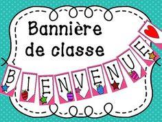 French Teacher, Teaching French, Teacher Helper, Teacher Pay Teachers, French Classroom Decor, Dark Blue, Light Blue, Core French, Learn French