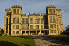 """Hardwick Hall, More glass than wall."" Built when glass was still outrageously expensive."