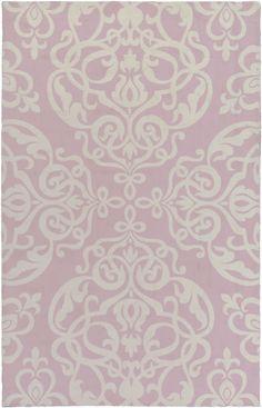 Surya CTT7000 Colette Pink Rectangle Area Rug