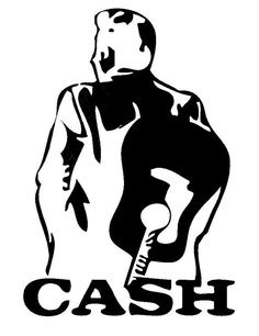 johnny cash pattern crochet pattern knit pattern pdf pattern xl graph pattern johnny cash silhouette man in black country music