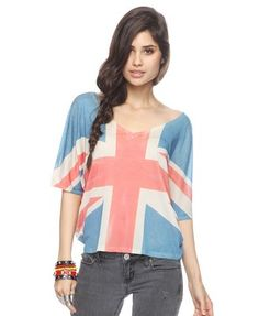 Union Jack Sublimation Top | FOREVER21 - 2000039208