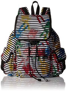Lesportsac Women's Peter Jensen Collection Voyager Backpack Bag - Jeffrey