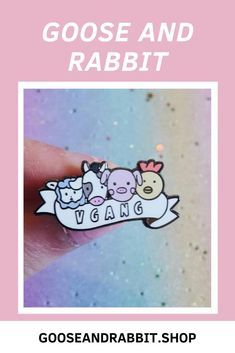 Grab this cute vegan enamel pin, click through to view more enamel pins. Perfect Mother's Day Gift, Etsy Business, Pin Collection, Some Fun, Stocking Stuffers, Birthday Gifts, Best Gifts, Etsy Seller, Enamel