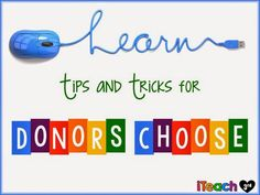 Learn Tips and Tricks for Donors Choose