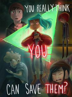 ren and alex oxenfree - Google Search