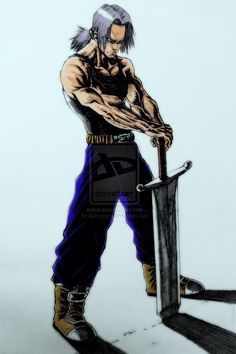 Dbz trunks art - Visit now for 3D Dragon Ball Z shirts now on sale!