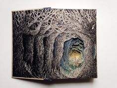 Intricate 3D Sculptures Made From Books By Isobelle Ouzman   iGNANT.de