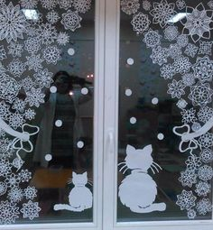 Christmas Mood, Christmas Crafts, Christmas Decorations, Christmas Ornaments, Holiday Decor, House Window Design, Diy House Projects, Craft Corner, Diy Weihnachten