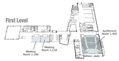First Level floor map of SAC Building Activity Centers, Floor Plans, Student, Flooring, Map, Activities, How To Plan, Building, Location Map