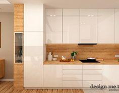 GRAZIOSO APARTAMENTY - Średnia otwarta kuchnia jednorzędowa w aneksie, styl nowoczesny - zdjęcie od design me too