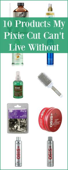 10 Products My Pixie Cut Can't Do Without -- I've had one variation or another of a pixie cut for over 16 years. These are my absolute favorite products--and yes, I use all of them. | isthisreallymylife.com
