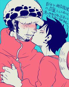 Aww... Luffy x Law