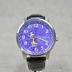 Paul Smith - Limited Edition Masterpiece Skeleton Automatic Watch (Purple Face)