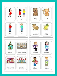 This set has 470 flashcards for your ESL lessons. They provide great visual help introducing English vocabulary and cover all topics from adjectives to weather.