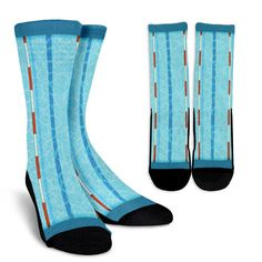 Swimmers and divers need these swimming pool socks for when they aren't in the water. Soft and comfortable. Order today! Swimming Drills, Swimming Gear, Swimming Pools, Swimming Memes, Competitive Swimming, Swim Team Gifts, Gifts For Swimmers, Swimming Equipment, Pool Shoes