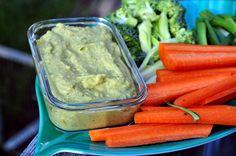 Paleo zucchini/sweet potato hummus