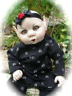 OOAK Horror Goth Art Doll Vampire Devil | eBay