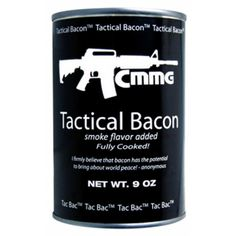Amazon.com : CMMG Tactical Cooked Bacon, 9-Ounce : Camping Freeze Dried Food : Sports & Outdoors