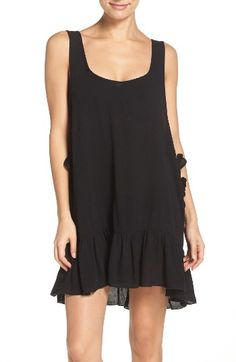 Free shipping and returns on Elan Side Tie Cover-Up Dress at Nordstrom.com. Celebrate the sunshine in this flowy flared dress that ties up the sides and back to show off your cute swimsuit beneath.
