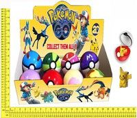 Wish | Pokemon Balls+ Pocket Monster Pikachu Toy Set Pokemon Action Figures Toy TV Characters Toys & Games (Color: Multicolor)