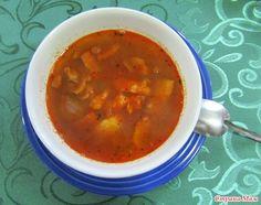 "Суп "" Lentejas con tocino"" (Лентэхас кон тосино- чечевица со шпиком)"