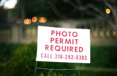 Photo permit required.