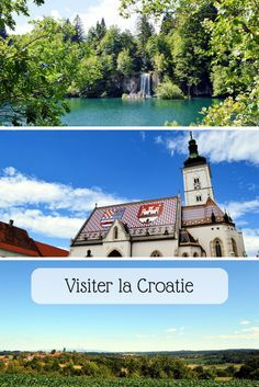 La Croatie, ce n'est pas que Split et la côte. Il y a plein d'autres beaux endroits à voir ! * * * #Croatie #VoyageCroatie Mansions, House Styles, Travel, Bon Voyage, Beautiful Places, Stuff Stuff, Viajes, Manor Houses, Villas