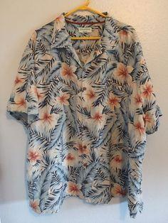 Beach Decor Original Printed Short Sleeve Shirt Size XS-2XL Big,Tropical Ocean S