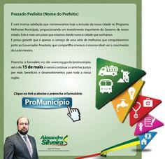 Email Marketing Informativo ProMunicípio Deputado Federal Alexandre Silveira