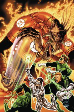 Hal Jordan and the Green Lantern Corps #12 - Ethan Van Sciver