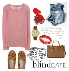 """""""What to Wear: Blind Date"""" by tormadrienn ❤ liked on Polyvore featuring Gap, 81hours, DKNY, Void, women's clothing, women, female, woman, misses and juniors"""