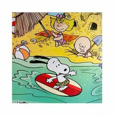 surfing snoopy