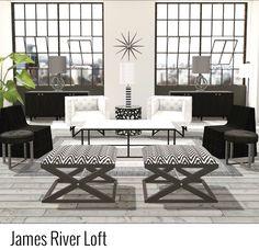 •james river loft• @designhome #homedecor #homedecoration #interiordesign #interiordesigner #interiordecoration #interiordecorator #designhome #mibevents