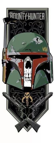 Bounty Hunter jolly rodger crest