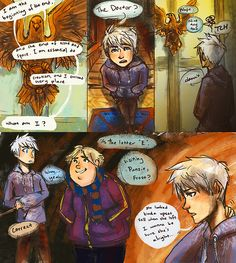 the big four at hogwarts | quickie 'in the mean time' rough idea comic follow-up to ...
