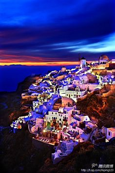 Can't wait to be traveling to Mykonos/Ios/Santorini/Atens in about a months time! Places Around The World, Oh The Places You'll Go, Places To Travel, Places To Visit, Around The Worlds, Vacation Destinations, Dream Vacations, Vacation Spots, Greece Destinations