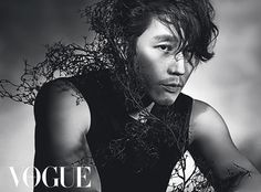 Jang Hyuk for Vogue Korea April 2014