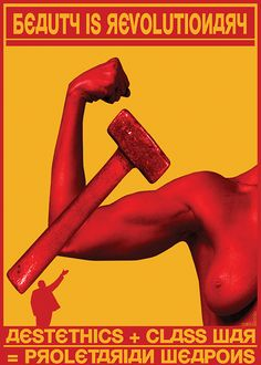 Carlo Miccio reinterprets Soviet revolution propaganda posters for modern times.