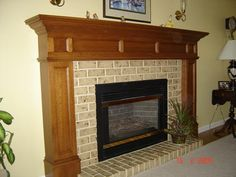 Custom Fireplace Surround 1999 16 ounce Copper wrapped over a