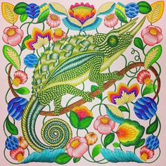 Curious Creatures Coloring Books Adult Pages Colouring Manga Gallery Artist Color Inspiration Arts And Crafts Tropical Paradise