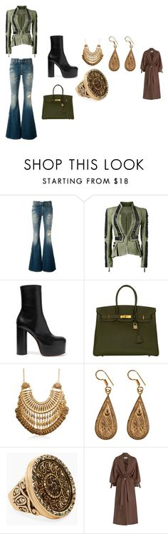 """""""60's"""" by lisa-elijah on Polyvore featuring Faith Connexion, Vetements, Hermès, Urbiana, Chico's and Zimmermann"""