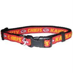 Kansas City Chiefs Pet Collar