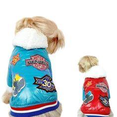 Dogs Clothing Motorcycle Jacket - Size 2XL