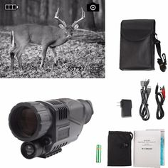 107.02$  Buy now - http://alirhw.shopchina.info/1/go.php?t=32773245537 - Digital Infrared Night Vision IR Scope Sight Device Monocular 5x40 Zoom Take Photos/Videos + Inner 4GB SD Card RL29-0003 107.02$ #aliexpresschina