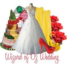 Wizard of Oz Wedding - Polyvore